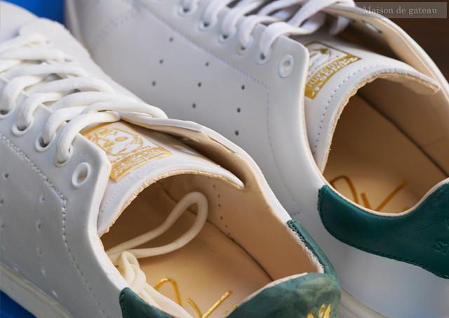制作風景|adidas STAN SMITH のシュガークラフト