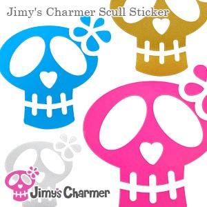 Jimy's Charmer スカルステッカー[大・中・小セット]