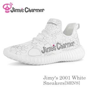 Jimy's 2001ホワイトスニーカー[メンズ]