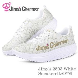 Jimy's 2503ホワイトスニーカー[レディース]